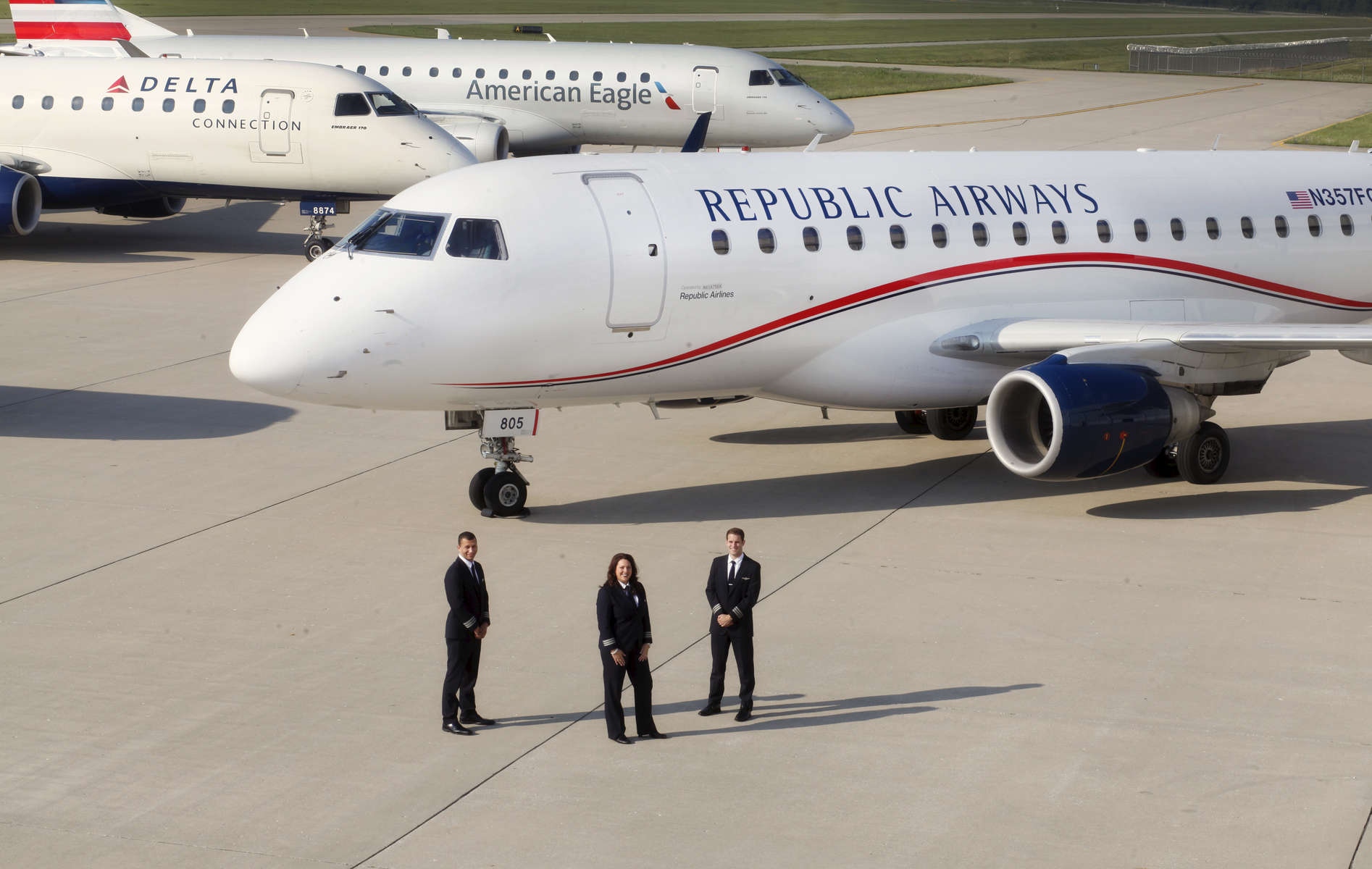 Republic Airways corporate photo.