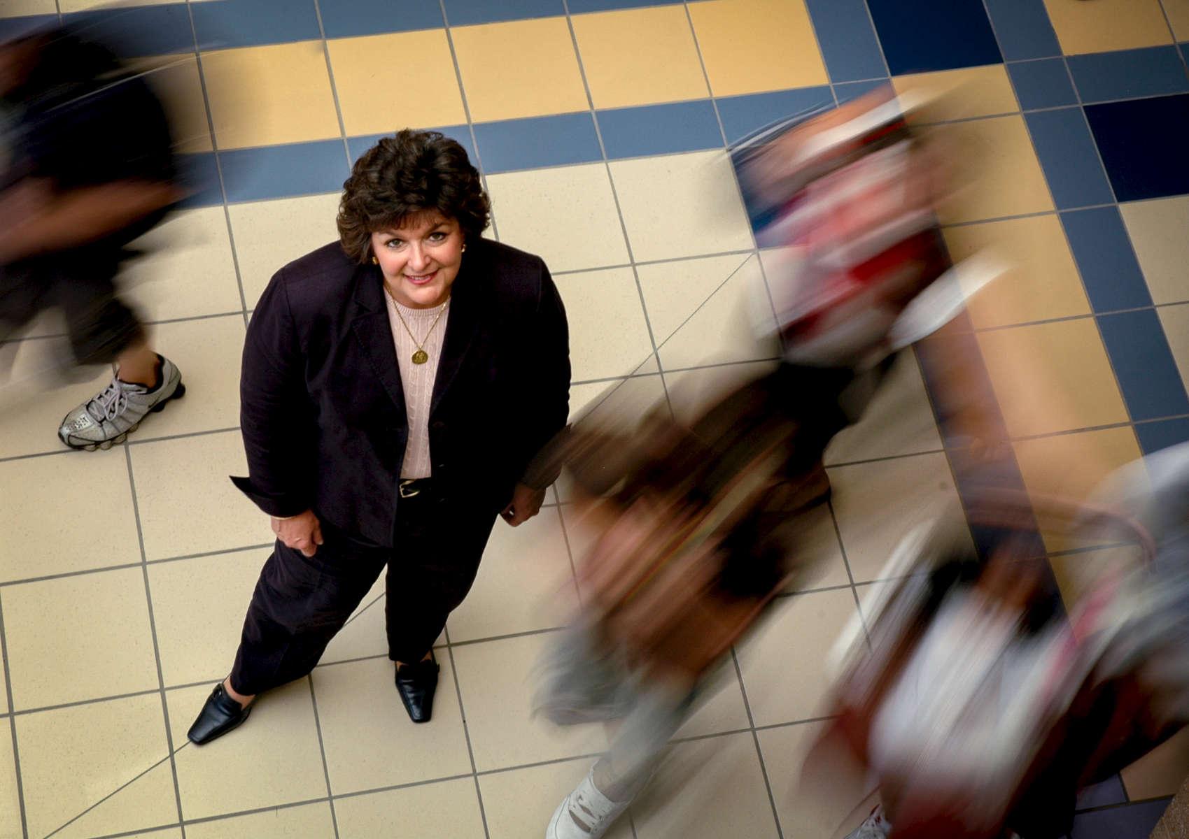 Hamilton Southeastern Schools Superintendent Dr. Concetta Raimondi.