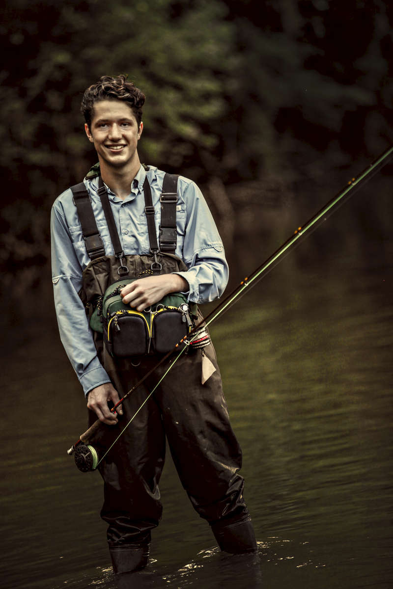 Fisherman. Commercial and Fashion photography by Perry Reichanadter, Wayne Images.