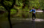 Fisherman. Commercial photography by Perry Reichanadter, Wayne Images.