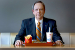 corporate portrait of a CEO executive of McDonald's in Chicago
