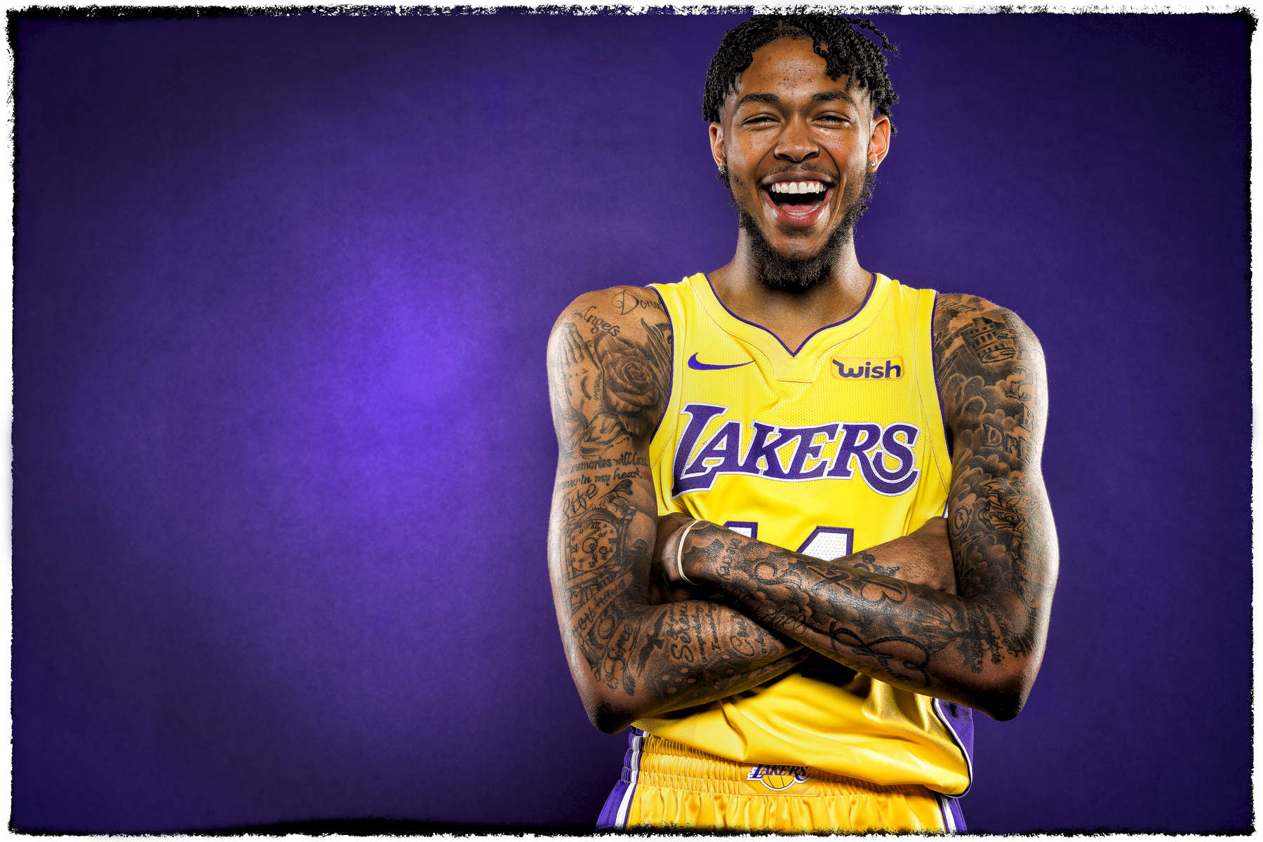 Photographed for the NBA, ©NBAE.