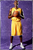 {quote}The First REAL Portrait{quote} - This is my first true portrait of Kobe Bryant. The previous two NBA media days I had only taken his offical headshot. I sat in art school thinking about this day. I was scared to death. He gave me three minutes.