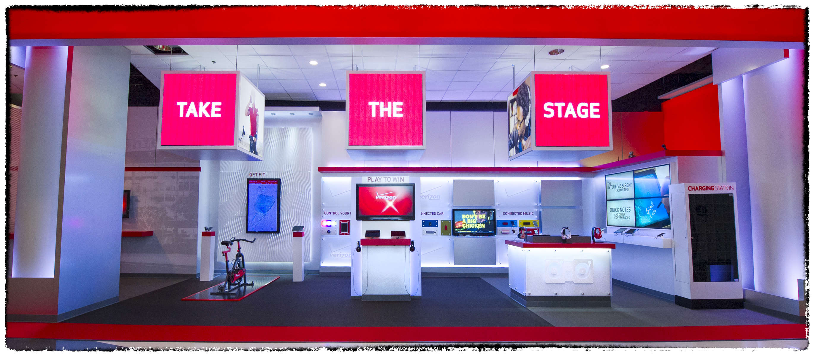 Activation photographed for Verizon.