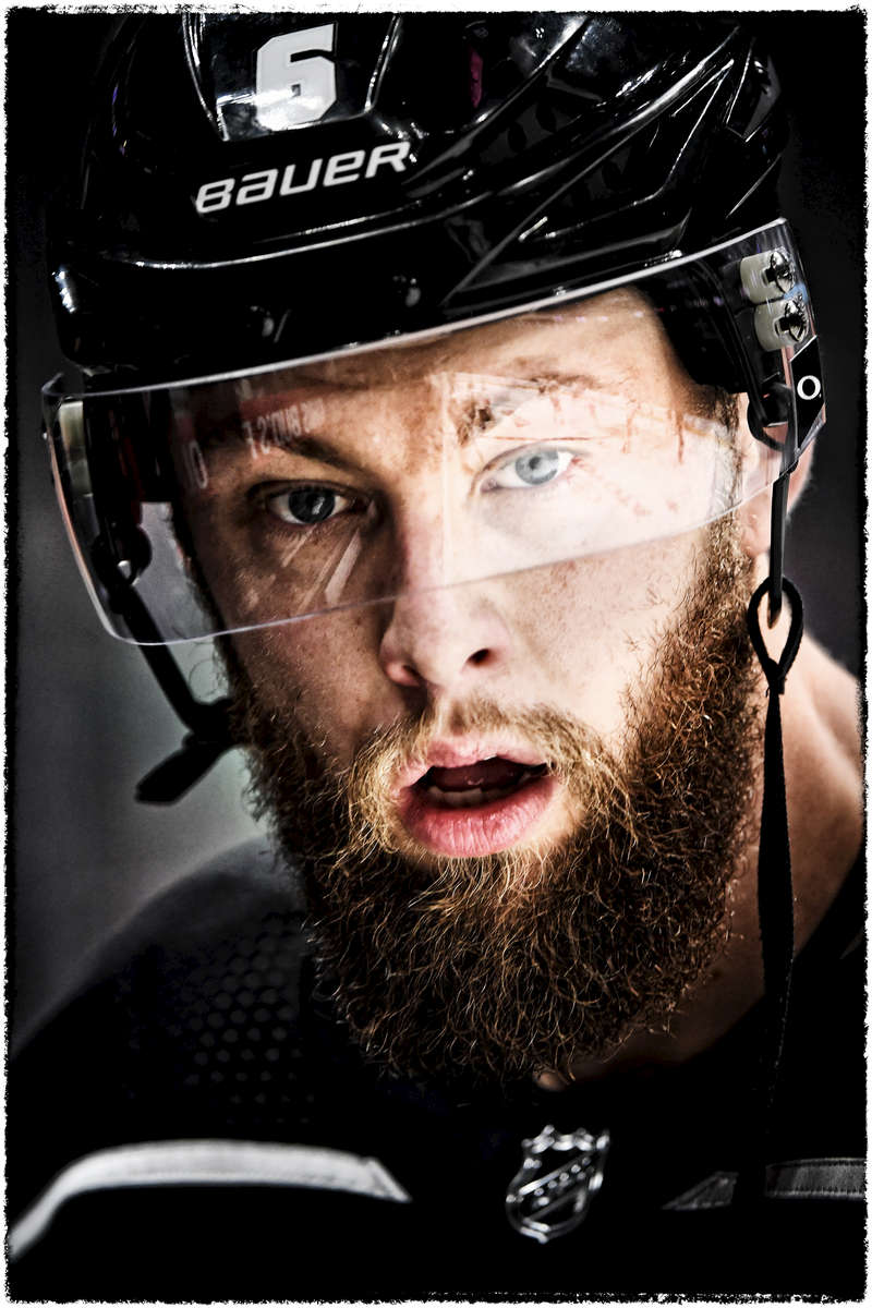 Photographed for the Los Angeles Kings / NHL / Bernstein Associates Inc.