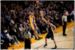 {quote}Zoned In{quote} - After a slow start, Kobe zoned in. No matter what the defense put on him, he executed.