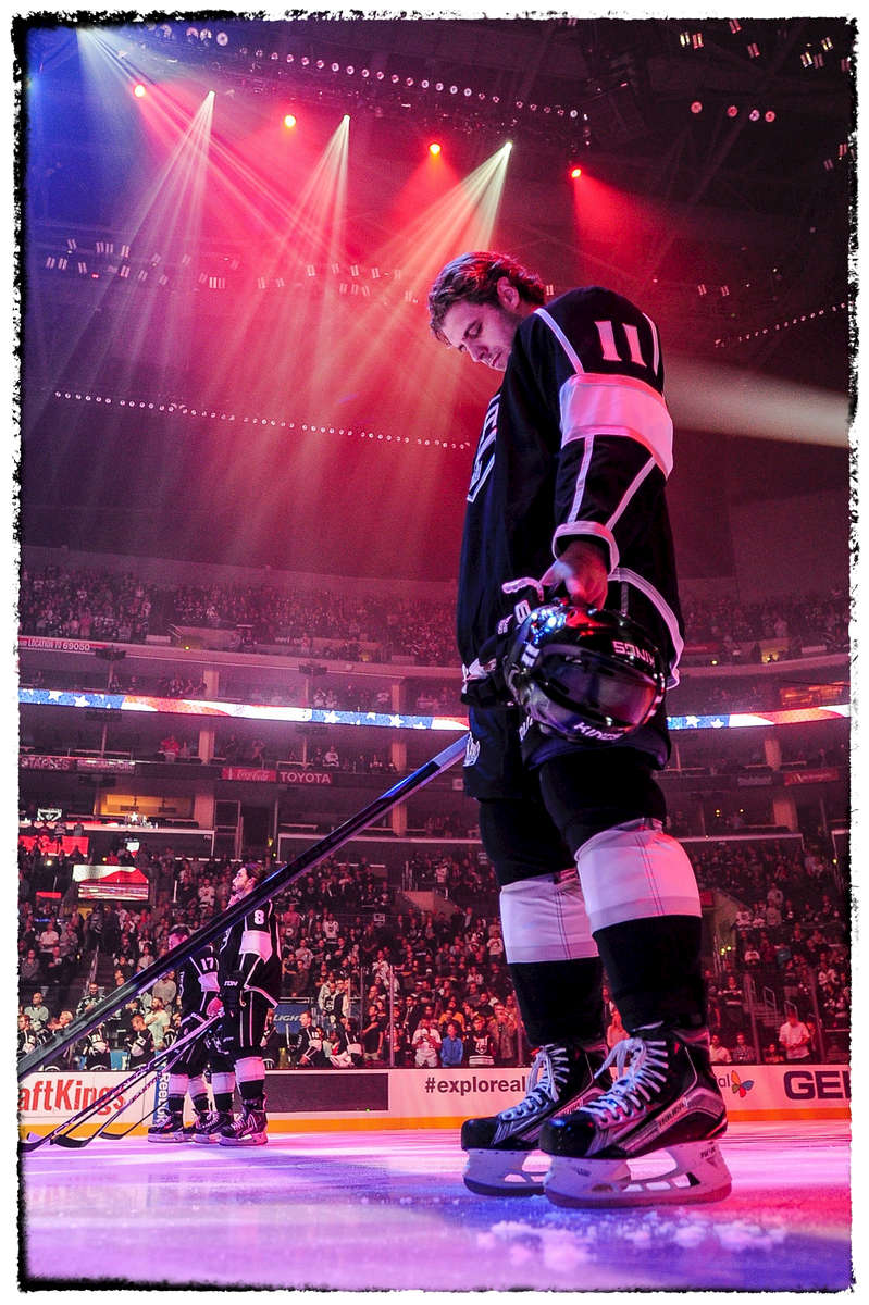 Photographed for the Los Angeles Kings / NHL/ Bernstein Associates Inc.