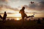 hacky-sack-sunset-beach