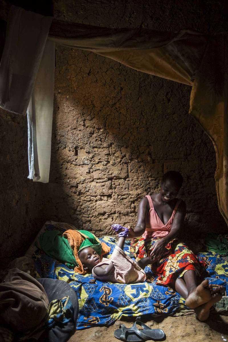 Mother and child, Kigali Rwanda