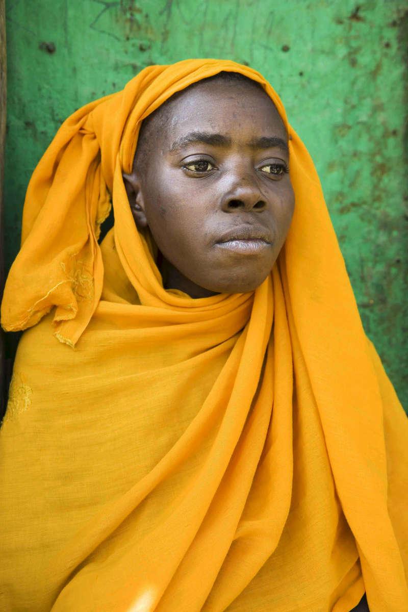 Batwa woman, Rwanda
