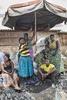 Charcoal sellers, Kabuga Market, Rwanda