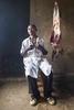 Goat brochette restaurant, Rwanda