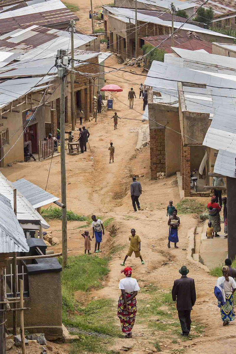 Rural town, Rwanda