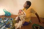 Newborn and Mom, Nyaconga, Rwanda