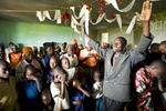 Christmas church service, Rwanda