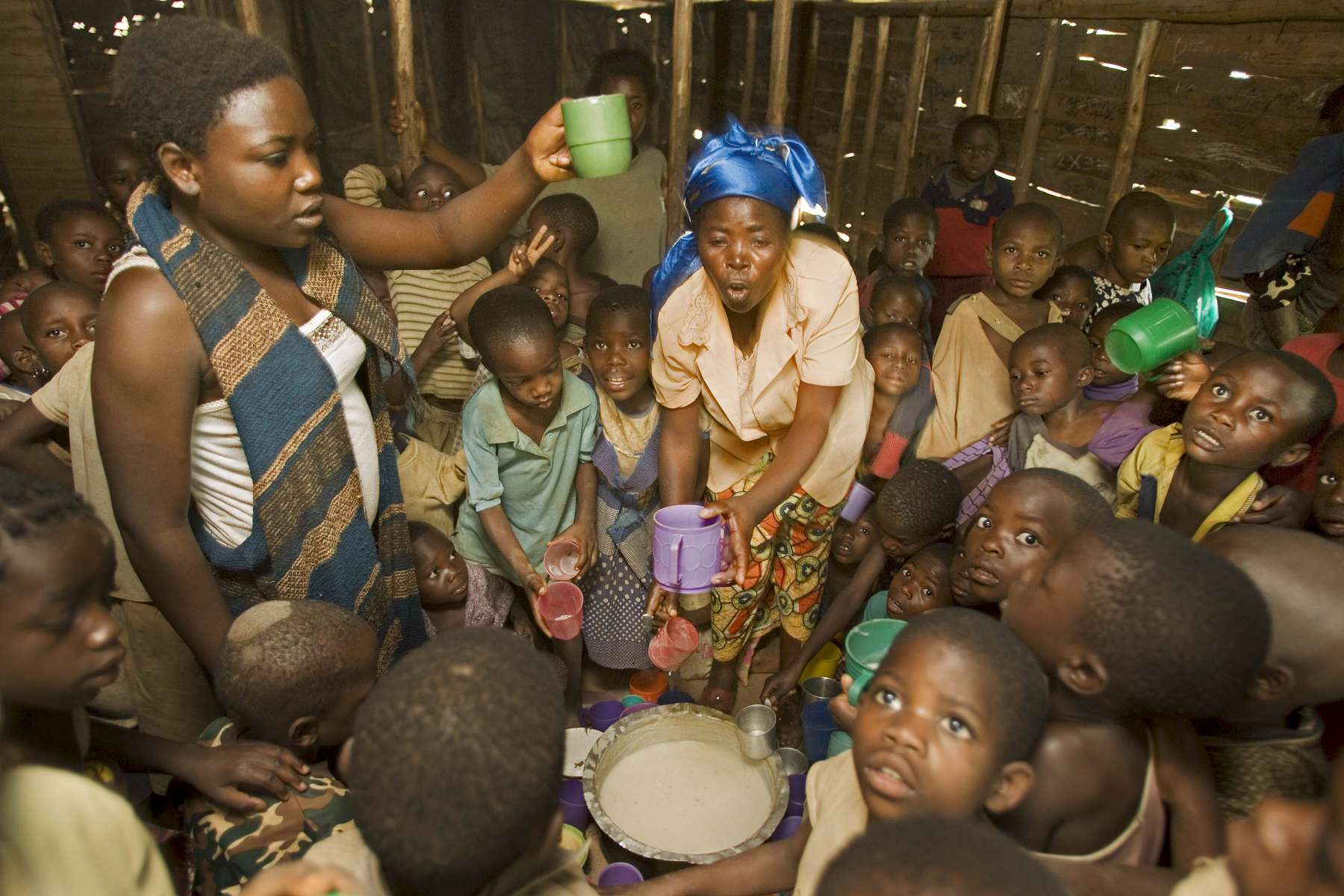 Orphanage, Congo
