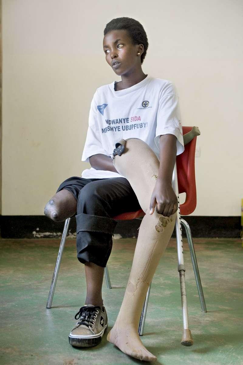 Genocide survivor, Rwanda