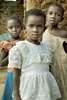 Batwa girls, Rwanda