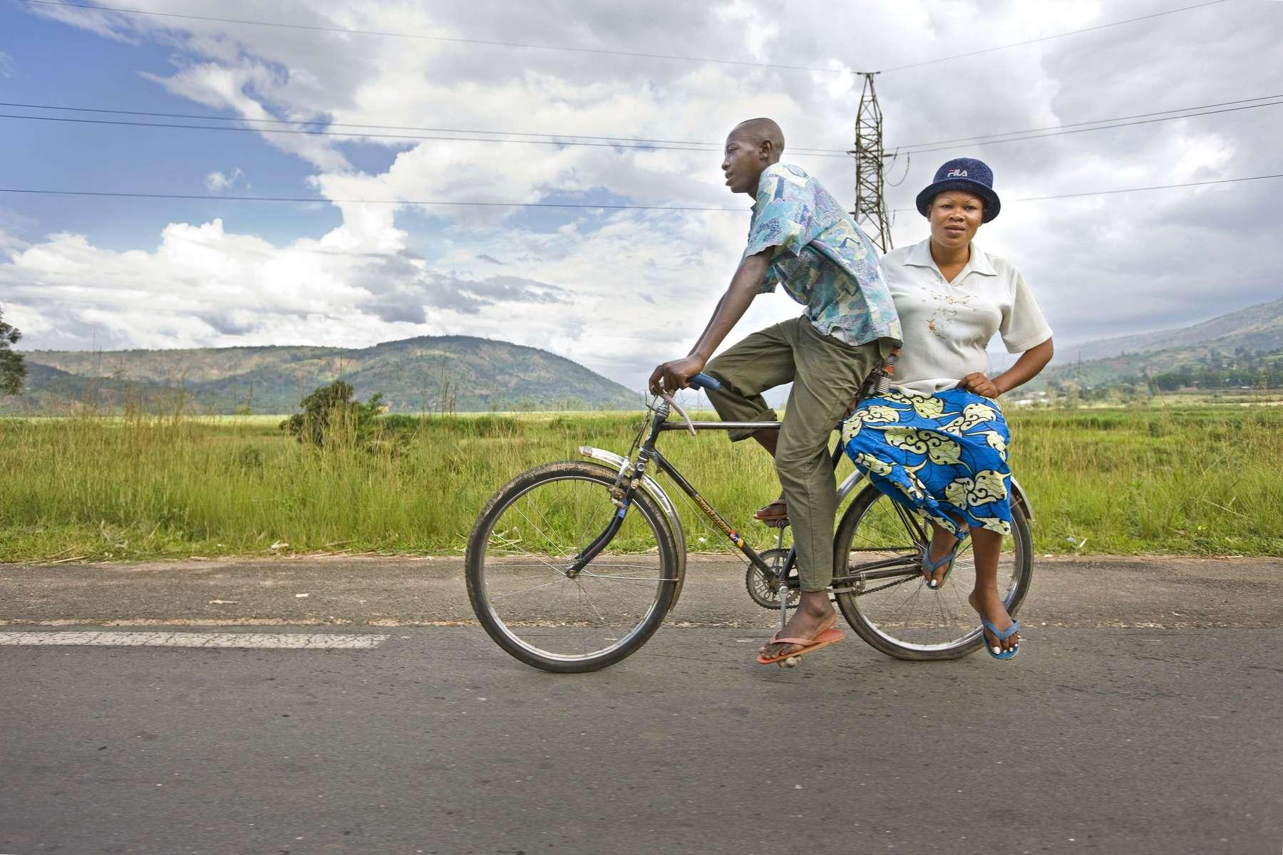Bicycle taxi, Rwanda