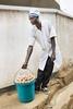 Egg seller, Kigali, Rwanda