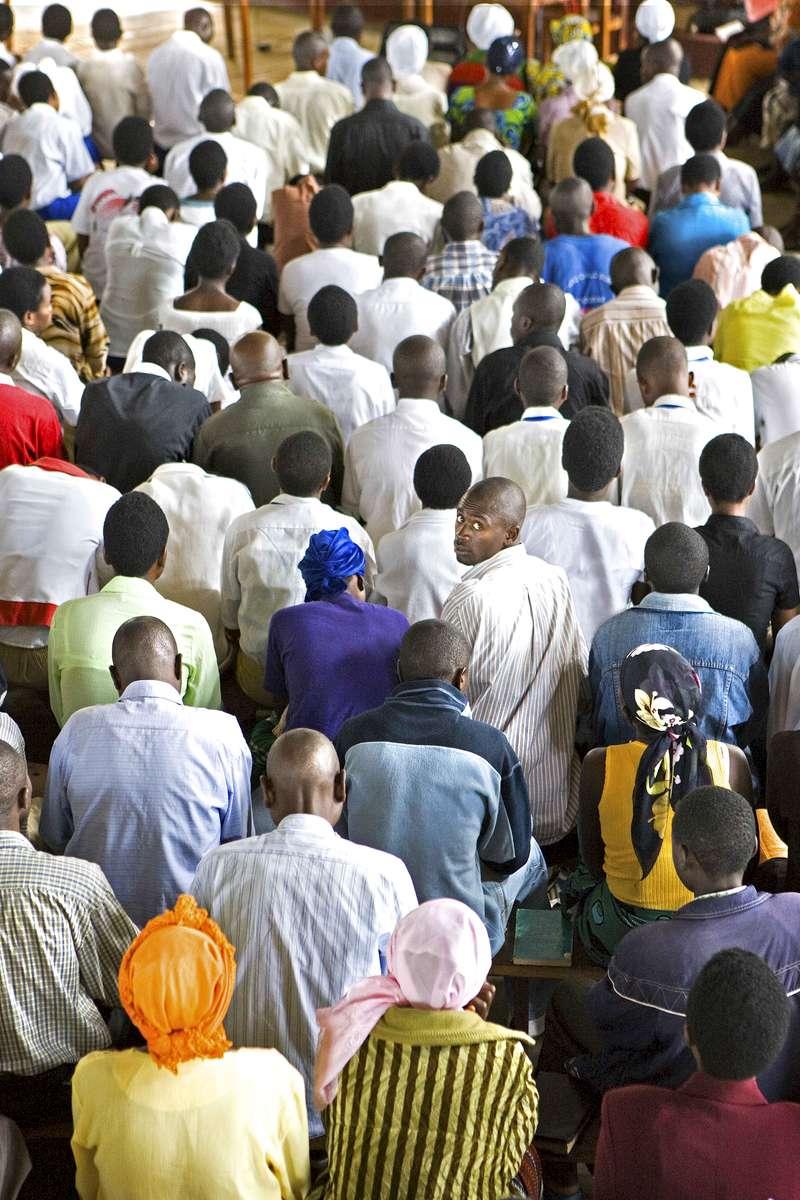 Church service, Rwanda
