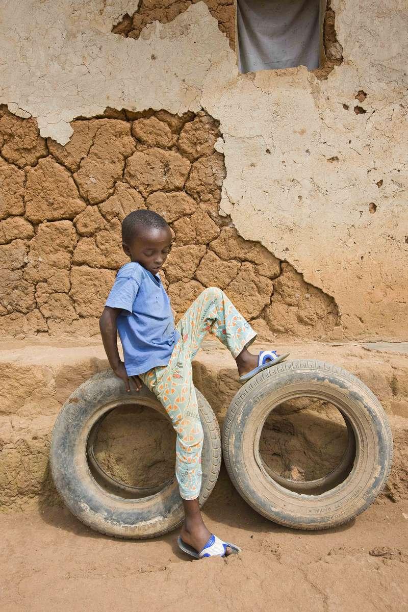 KId at home, Kanombe, Rwanda