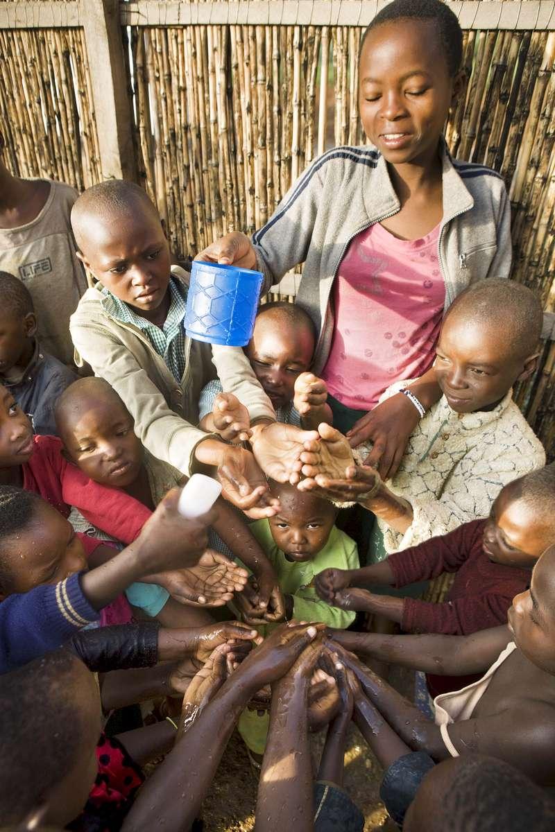 Hand washing, Rwanda