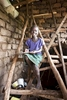 Student at home, Rwanda