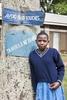 Student at school, Uganda