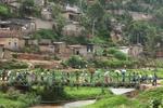 Pedestrian bridge, Kigali, Rwanda