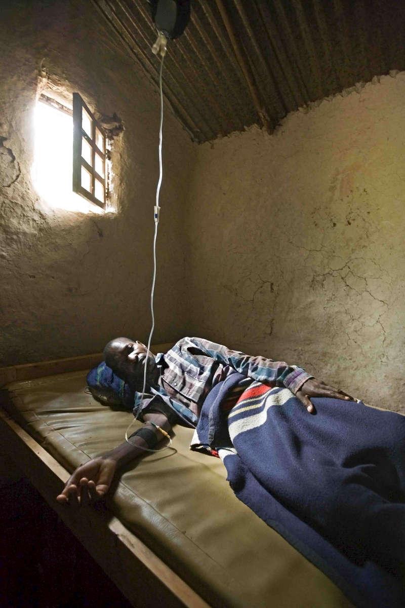 Malaria clinic, Congo