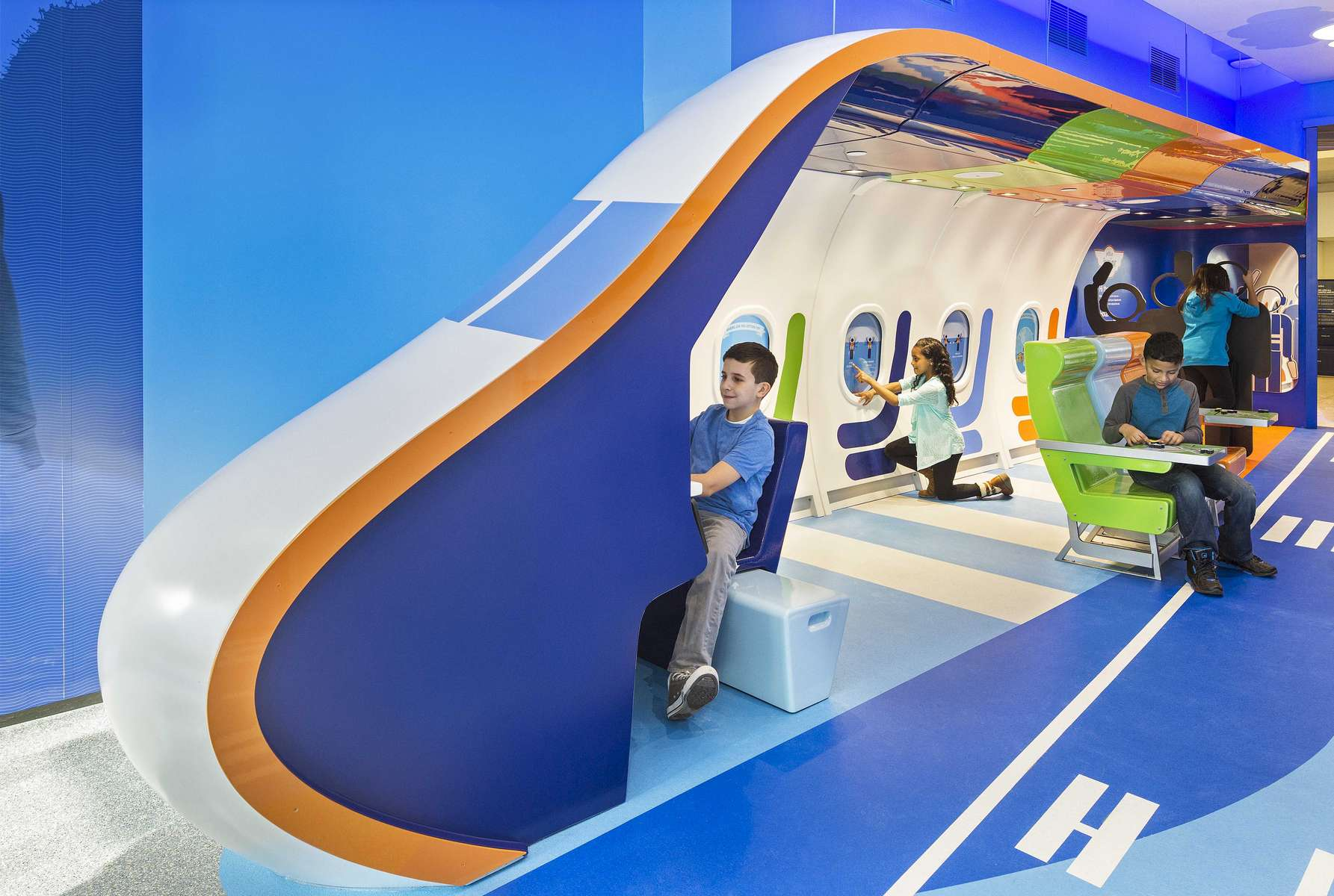 Children's Play Area, JetBlue JFK