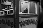 Tornado Ticket Booth, Summer, 1977  © Hazel Hankin
