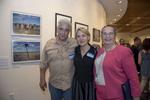 Photographers, Gilles Peress and Alison Cornyn pose with EDNY Chief Judge, Dora Irizarry. Photo: © Rick Kopstein