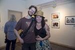 Photographer, Mina Teslaru, and friend.Photo: © Rick Kopstein