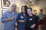 Photographers, Ken Shung, Yunghi Kim and Hazel HankinPhoto: © Rick Kopstein
