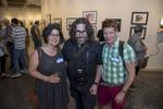 Photographers, Stefanie Dworkin, Reuben Radding and Ruben Natal-San Miguel. Photo: © Rick Kopstein