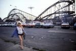 Debbie Harry of Blondie, Coney Island, 1977  © Bob Gruen