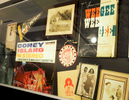 """Display of Coney Island memorbilia at the """"Greetings from Coney Island"""" A Group Photography Exhibition, Charles P. Sifton Gallery,  EDNY Courthouse.June 28th, 2018Photo: © Ken Farrell"""