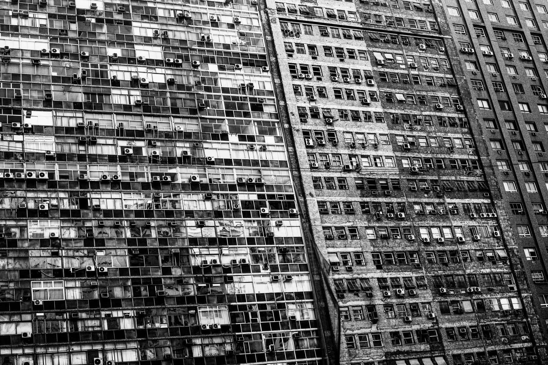 La fachada de un edificio de apartamentos en el centro de Río de Janeiro, Brasil, 5 de junio de 2016.