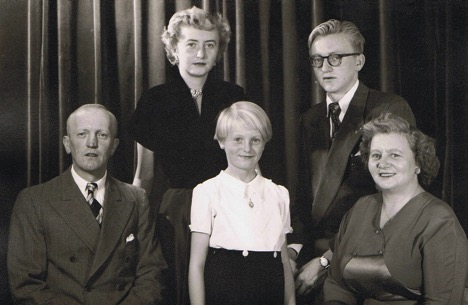 """Little GrandmotherEsther Thorvalds, guest contributorAmma Lilla (pictured as a young girl, in the middle of the photo) is a woman who has no interest in following any of the written and unwritten rules of being a grandmother. An amma, who falls asleep on the couch watching soap operas with the volume turned all the way up, instead of quietly reading in bed. An amma, who takes American line dance lessons and prefers to make friends at the bar rather than the traditional sewing club. An amma, who scandalously, does not knit.My other amma knew all the rules in the granny rule book by heart. I wouldn't be surprised to see a picture of her in the dictionary if I were ever to look up the word """"amma"""", the word for grandmother in my language. She'd be standing in the kitchen (I rarely saw her sitting), wearing her soft pastel pink apron with the flowers, the perfect short-cut grey curls on her head, you would never guess it was a wig. Maybe she'd be holding grandpa's cup of coffee, black with two sugars. The look she must've had on her face when her son got together with my mom and she met amma Lilla. As the youngest of three, she got the nickname Lilla, meaning little. And even though she later grew up to be an average sized woman (maybe even a little taller than average) she would always be called Lilla. Even when she became a grandmother, she was called amma Lilla; Little Grandmother. But it's okay, she likes being thought of as young. As a child I asked her how old she was and I memorized the answer: She was 47. At the time, I didn't realize her age changed every year, but she liked being 47 years old, so we agreed to keep it that way. She is still 47 today.Amma Lilla is two people; the day-time amma and the night-time amma. Both live inside the same body, but they are completely unaware of each other's existence. Much like a coin, the two sides will always face away from each other and it is physically impossible for one side to see the other. They don't even share the"""