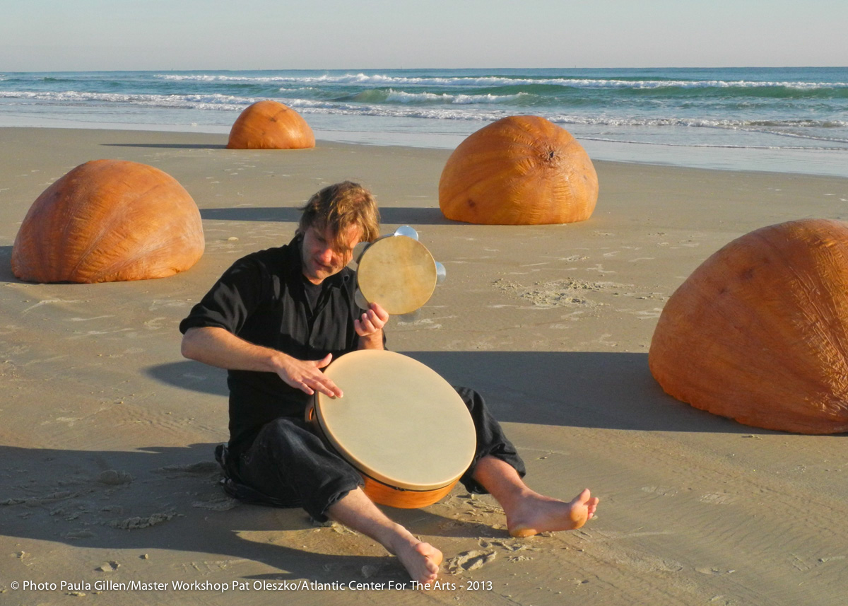 Associate Artist working with Master Artist, and performance artist, Pat Oleszko