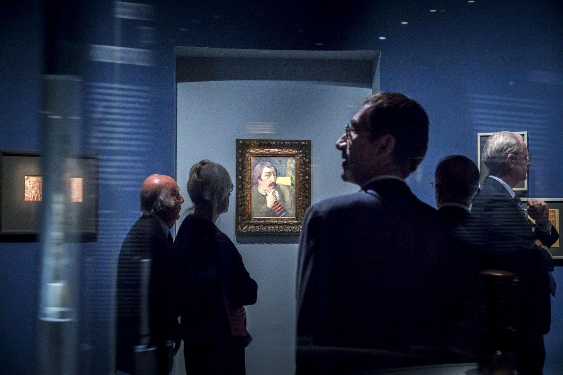 Exposition Gauguin l'Alchimiste au Grand Palais, Paris, France, 2017