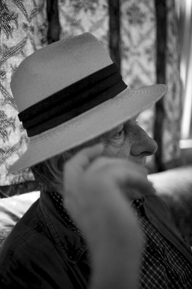 Dominique Lapierre, écrivain FrançaisBombay, India, 2008