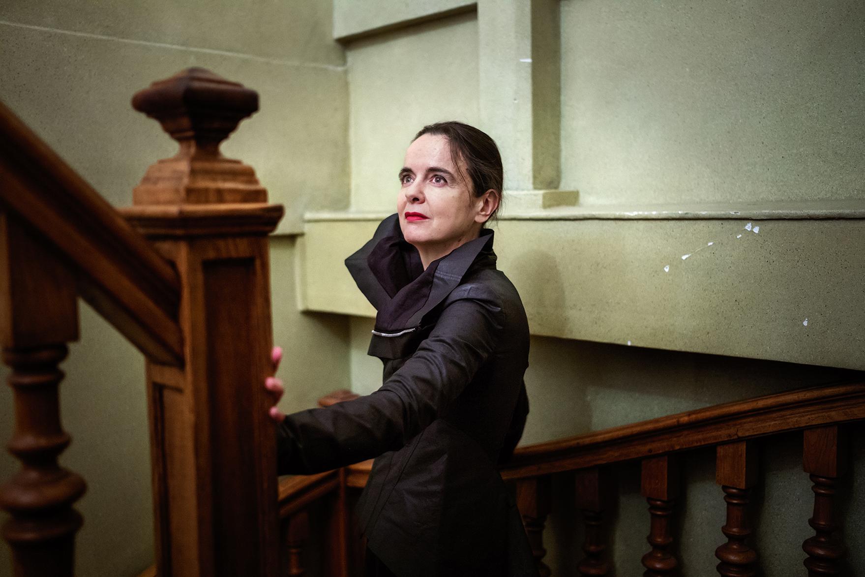 Amélie Nothomb, écrivaine BelgeParis, France, 2019