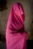 Femme fesant partie du gang rose.