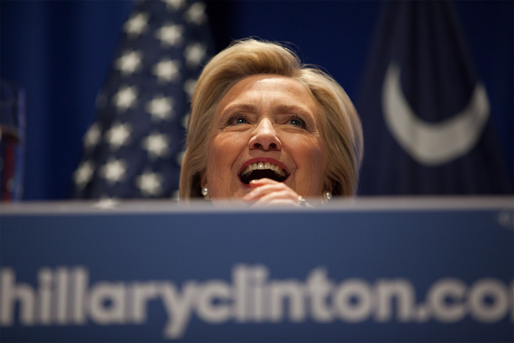 U.S. Democratic presidential candidate and former Secretary of State Hillary Clinton speaks at a rally at Trident Technical College Conference Center in North Charleston, South Carolina June 17, 2015.   REUTERS/Randall Hill