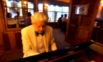 Classic jazz pianist Bob Hutchings  plays standards at The Charleston Cafe in Surfside Beach.