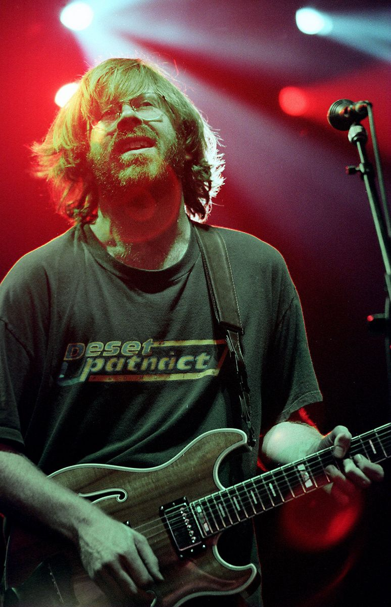 Trey Anastasio of the jam band Phish, performs in Raleigh. The bands is known for its musical improvisation, extended jams and exploration of music across genres.