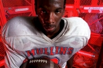 Mullins High School standout Demitrius Sanders caught 38 passes for 768 yards and three touchdowns last season. This year High School Sports Report has named him as a preseason Class AA all-state defensive back.